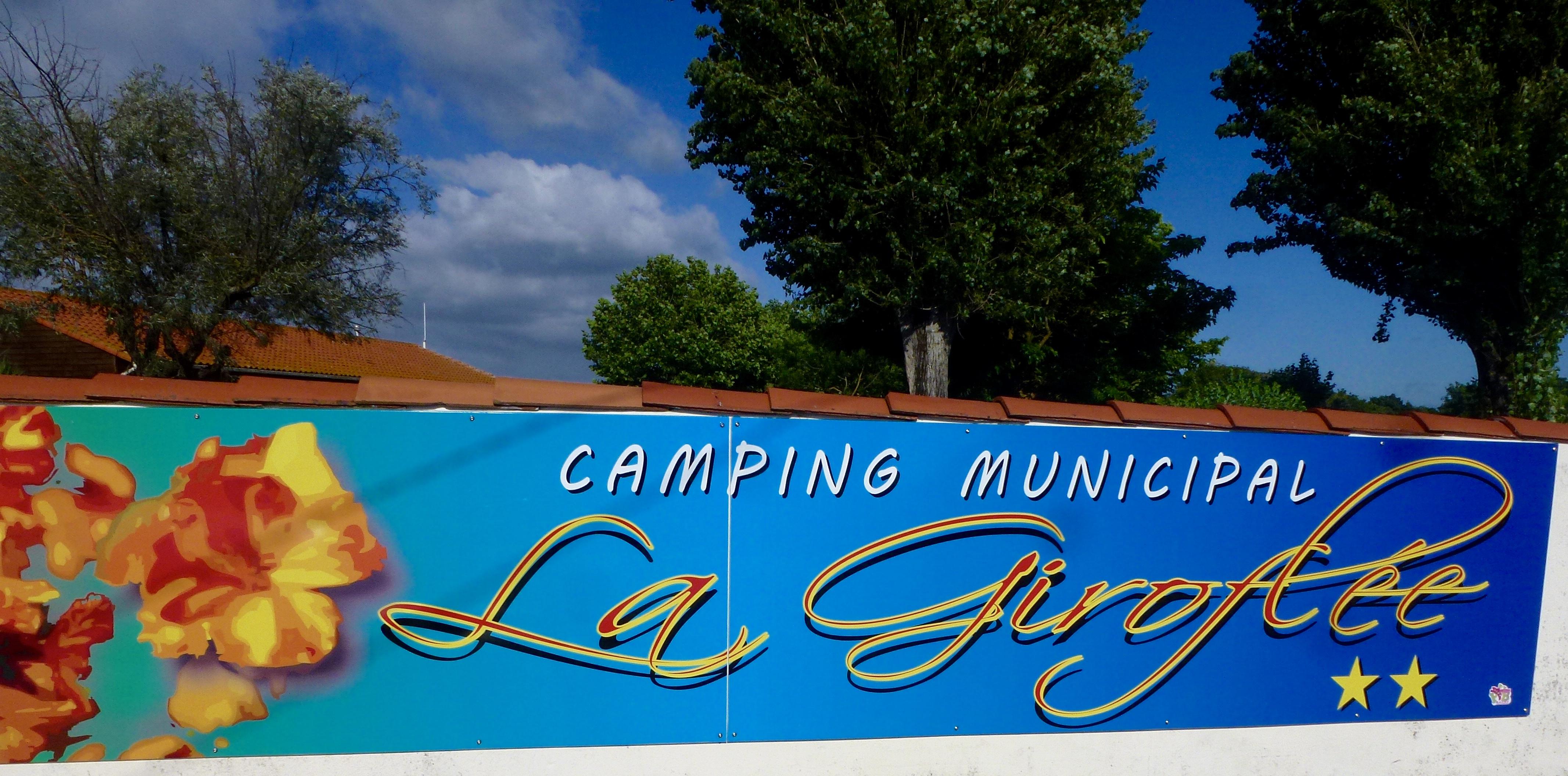 campsite camping la giroflee bourcefranc le chapus. Black Bedroom Furniture Sets. Home Design Ideas